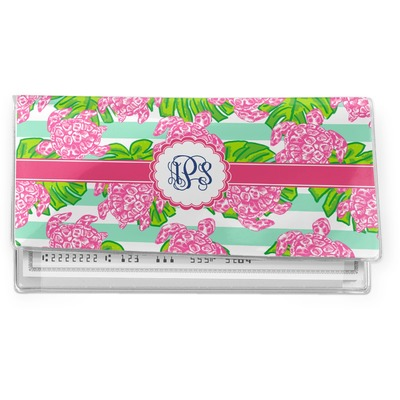 Preppy Vinyl Checkbook Cover (Personalized)