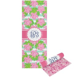 Preppy Yoga Mat - Printable Front and Back (Personalized)