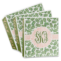 Tropical Leaves 3-Ring Binder (Personalized)