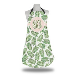 Tropical Leaves Apron (Personalized)
