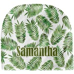 Tropical Leaves Baby Hat (Beanie) (Personalized)