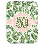 Tropical Leaves Baby Swaddling Blanket (Personalized)
