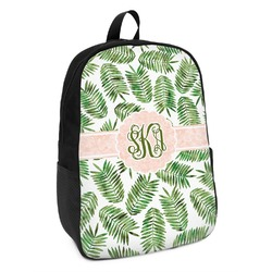 Tropical Leaves Kids Backpack (Personalized)