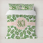 Tropical Leaves Duvet Covers (Personalized)