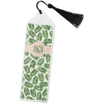 Tropical Leaves Book Mark w/Tassel (Personalized)