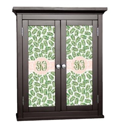 Tropical Leaves Cabinet Decal - Large (Personalized)