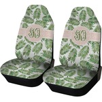 Tropical Leaves Car Seat Covers (Set of Two) (Personalized)