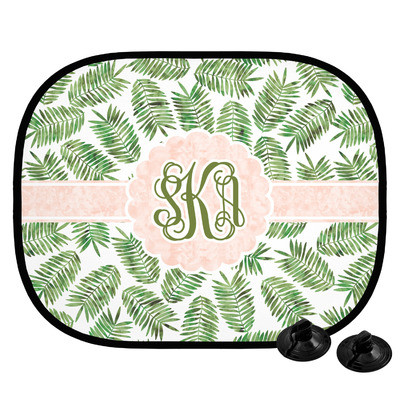 Tropical Leaves Car Side Window Sun Shade (Personalized)