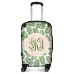 Tropical Leaves Suitcase (Personalized)