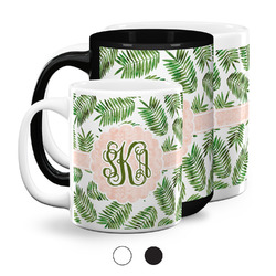 Tropical Leaves Coffee Mugs (Personalized)