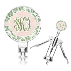 Tropical Leaves Corkscrew (Personalized)