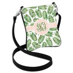 Tropical Leaves Cross Body Bag - 2 Sizes (Personalized)