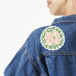 Tropical Leaves Large Custom Shape Patch (Personalized)