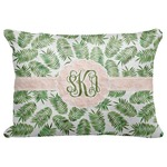 "Tropical Leaves Decorative Baby Pillowcase - 16""x12"" (Personalized)"