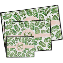 Tropical Leaves Door Mat (Personalized)
