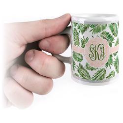 Tropical Leaves Espresso Mug - 3 oz (Personalized)