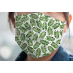 Tropical Leaves Face Mask Cover (Personalized)
