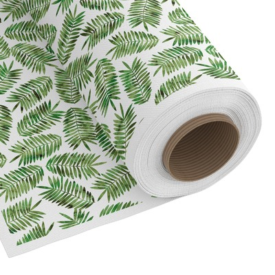 Tropical Leaves Custom Fabric by the Yard (Personalized)