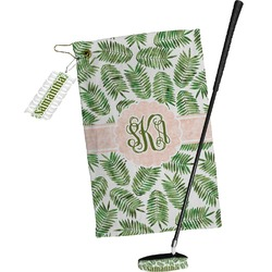 Tropical Leaves Golf Towel Gift Set (Personalized)