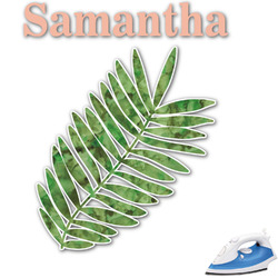 Tropical Leaves Graphic Iron On Transfer (Personalized)