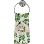 Tropical Leaves Hand Towel - Full Print (Personalized)
