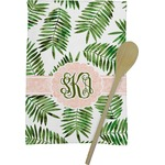 Tropical Leaves Kitchen Towel - Full Print (Personalized)