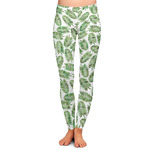 Tropical Leaves Ladies Leggings (Personalized)