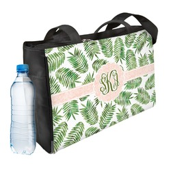 Tropical Leaves Ladies Workout Bag (Personalized)