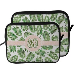 Tropical Leaves Laptop Sleeve / Case (Personalized)
