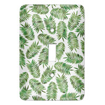 Tropical Leaves Light Switch Covers (Personalized)