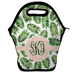 Tropical Leaves Lunch Bag w/ Monogram