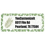 Tropical Leaves Return Address Labels (Personalized)