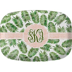 Tropical Leaves Melamine Platter (Personalized)