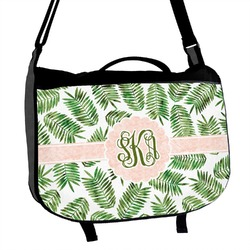 Tropical Leaves Messenger Bag (Personalized)