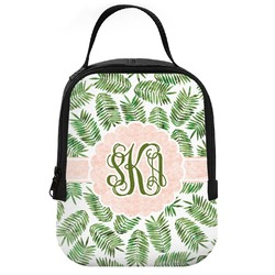 Tropical Leaves Neoprene Lunch Tote (Personalized)