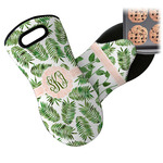 Tropical Leaves Neoprene Oven Mitt (Personalized)