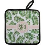 Tropical Leaves Pot Holder (Personalized)