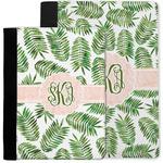 Tropical Leaves Notebook Padfolio w/ Monogram