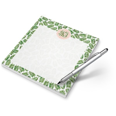Tropical Leaves Notepad (Personalized)