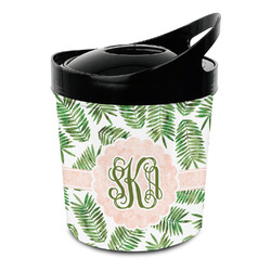 Tropical Leaves Plastic Ice Bucket (Personalized)