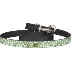 Tropical Leaves Pet / Dog Leash (Personalized)