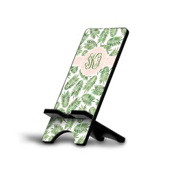 Tropical Leaves Phone Stand (Personalized)