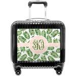 Tropical Leaves Pilot / Flight Suitcase (Personalized)