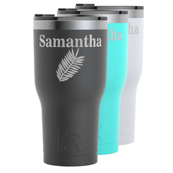Tropical Leaves RTIC Tumbler - 30 oz (Personalized)