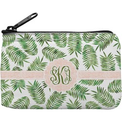 Tropical Leaves Rectangular Coin Purse (Personalized)