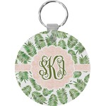 Tropical Leaves Keychains - FRP (Personalized)