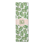 Tropical Leaves Runner Rug - 3.66'x8' (Personalized)