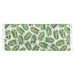 Tropical Leaves Faux Pashmina Shawl (Personalized)