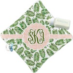 Tropical Leaves Security Blanket (Personalized)