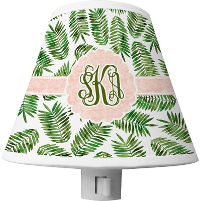 Tropical Leaves Shade Night Light (Personalized)